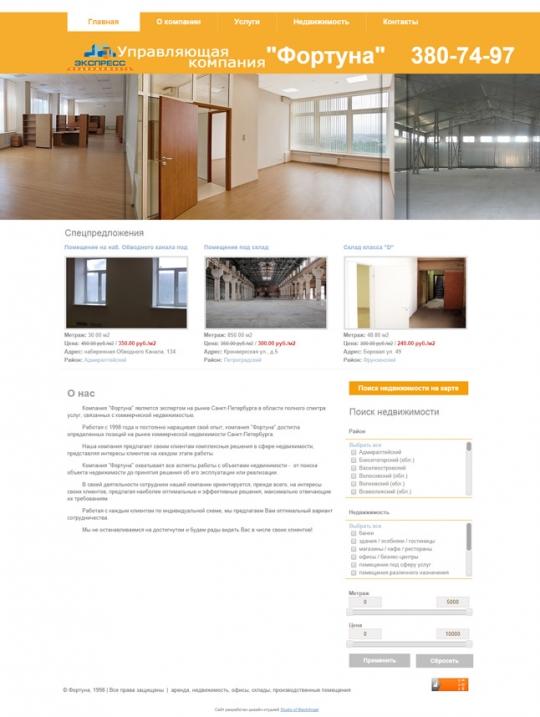 реконструкция сайта форуна-недвижимость