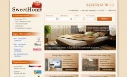 Разработка сайта для SweetHome