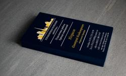 Визитка для фирмы занимающейся отделочными работами и арендой помещений